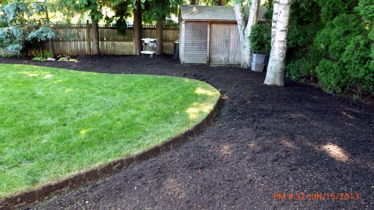 After Mulching