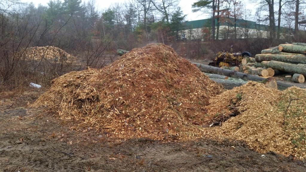 crude woodchips